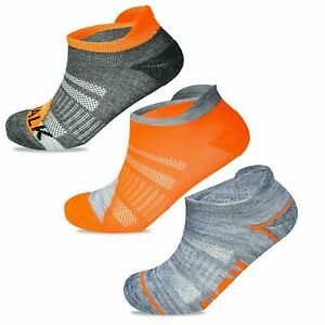 Ladies Womens Sports Trainer Socks Running Gym Cushioned Ankle Liner Size UK 4-8