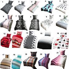 Winter Bettwäsche-Set | Thermo Fleece 135x200 | 155x220 | 200x200 2 - 3 teilig