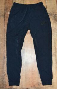 MEN NIKE SLIM FIT JOGGER PANTS Size Medium Blue COTTON NYLON BLEND 804325-475