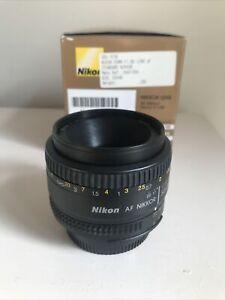 Nikon AF-S Nikkor 50mm F/1.8 G lens – Very Good Condition Pre-Owned