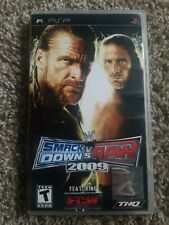 WWE Smackdown Vs. Raw 2009  PSP Game Complete