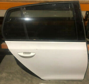 Volkswagen VW Golf 6 Mk6 Rear Right Complete Door With all Trim Candy White NOR3