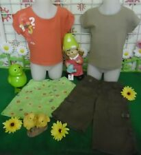 vêtements occasion fille 4 ans,tee-shirt,jupe,pantalon OKAIDI