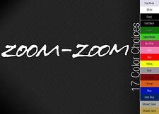 ZOOM ZOOM Mazda Decal- honda mazda mticker racing JDM illist stance euro drift