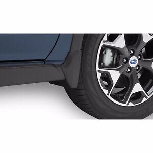 OEM 2018 Subaru Crosstrek Splash Guards Mud Flaps Set of Four NEW J101SFL600