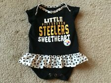 I Drool Black And Yellow Pittsburgh Steelers Baby  Bodysuit