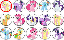 30 My Little Pony Edible Cupcake Topper Party Decoration PRE-CUT