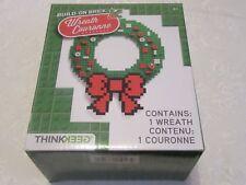 Build on Brick Christmas X-Mas Wreath Couronne Lego Mega Construx Think Geek