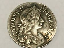 More details for charles ii 1679 fourpence coin