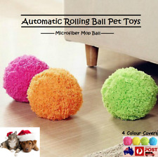 Home Microfiber Mop Automatic Rolling Ball Vacuum Cleaner Pet Dogs Cats Toys