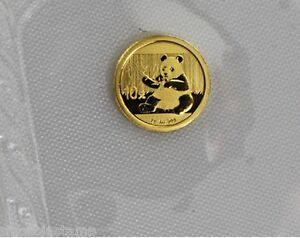 China 2017 1g Gold Panda Coin