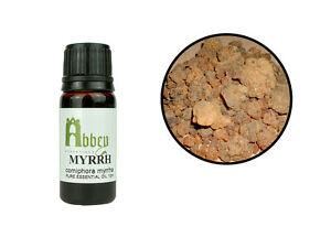 Essential Oil Myrrh 100% Pure Commiphora Aromatherapy 10ml - 1 Litre UK