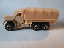 1983 Hot Wheels Military Army Troop Convoy Personnel Carrier Truck #4921 (Tan)