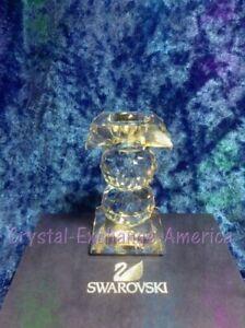 Swarovski Crystal 109 Hole Style Candleholder 010077. Retired 1985. MIB