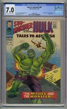 TALES TO ASTONISH #85 CGC 7.0 HULK APP KRANG APP