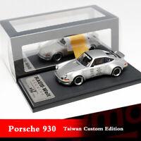 1:64 Scale Porsche 930 RAUH-Welt Begriff RWB Works Ducktail Wing Car Model