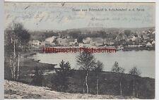 (105247) AK Gruß aus Petersdorf, Bad Saarow, Spree, Panorama 1915