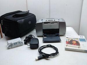 HP Photosmart 145 Compact Digital Photo Inject Printer With Black Carry Bag