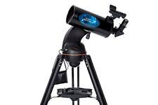 Celestron AstroFi 102 Wi-Fi Maksutov Reflecting Telescope,Black (22202)