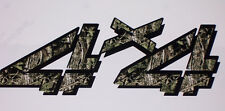 4X4 4 2 color mossy oak Camo Bed Side Decals decal Chevy GMC 1500 2500 3500 Ram