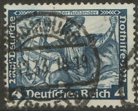 Stamp Germany Mi 500 Sc B50 1933 WWII Fascism Dutchman Richard Wagner Used