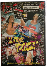 XPW WRESTLING - Go Funk Yourself BRAND NEW DVD TERRY FUNK SABU HARDCORE EXTREME