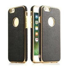 Bumper Crocodile PU Leather Mobile Phone Back Case Cover For iPhone 6 & 7 - new