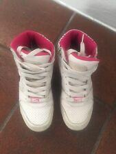 Nike Air donna bianche nere e fucsia. Numero 38,5