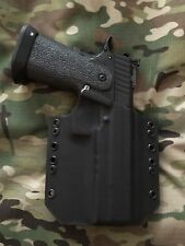 "Black Kydex Holster 2011 5"" Double Stack Full Rail"