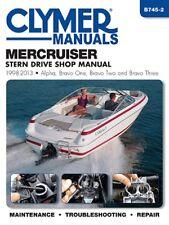 1998-2013 MerCruiser Stern Drives Alpha Bravo One Two Three Repair Manual B7452