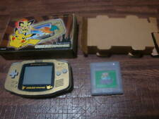 Nintendo Pokemon Center NEWYORK Game Boy Advance Gold from jAPAN