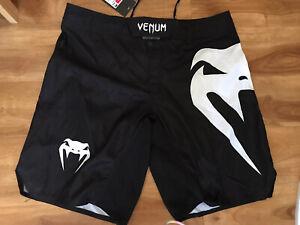 Venum Light 3.0 MMA Fight Shorts - Black/White NWT! VENUM Size XL