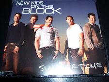 New Kids On The Block Summertime Rare Australian CD Single - Like New