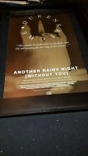 Queensryche Another Rainy Night Without You Rare Radio Promo Poster Ad Framed #2