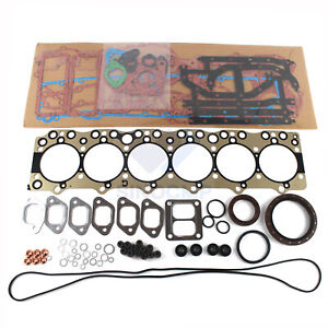 6BG1(T) Engine Overhaul Gasket Kit for Isuzu TCM Hitachi JCB Excavator NRR FSR