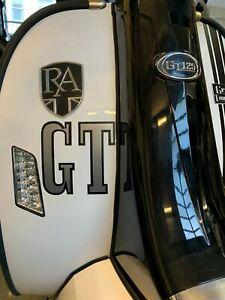 GT LETTER STICKER ROYAL ALLOY LEG SHIELD SCOOTER  DECALS GRAPHICS