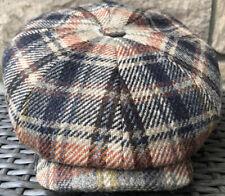STETSON GERMANY EUROPE HATTERAS Wool M 57CM NEWSBOY 8/4 GATSBY PEAKY BLINDER CAP