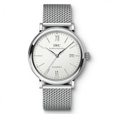 New IWC Portofino Automatic Silver Dial Steel 40mm Ref IW356505