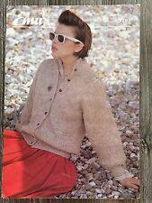 "Emu Knitting Pattern: Ladies Cardigan, Chunky, 36-41"", 3792"