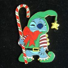 Stitch Dressed as Elf Jumbo Disney Shopping Pin LE 500 OC
