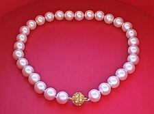 CLASSY New Runway Designer Beaded Pearl Cabochon Crystal NECKLACE