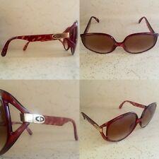 EUC VTG CHRISTIAN DIOR 2320 33 OVERSIZED BUTTERFLY RX SUNGLASSES FRAMES GERMANY