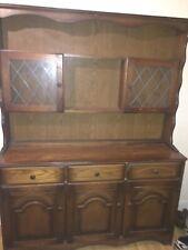 1970/80s cottage style dark oak dresser