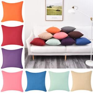 Kissenhülle Kissenbezüge Einfarbig wasserdicht Kissen Fall Home Sofa Dekoration