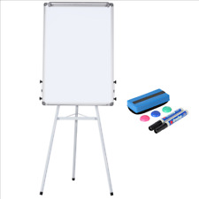 New listing Portable Dry Erase Easel Magnetic White Board Dry Erase Board Tripod Whiteboard