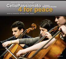 JULIUS/BERGER,HYUN-JUNG BERGER - CELLOPASSIONATO-4 FOR PEACE  CD NEU VARIOUS