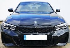 Bmw G20 M340i High Glass Black Front Kidney Grill With Camera