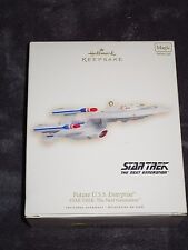 Hallmark Keepsake Ornament, Future U.S.S Enterprise, Star Trek; The Next Generat