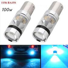2X 8000K 1156 BA15S P21W 100W LED Lights Cree Projector Turn Signal Reverse Bulb