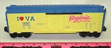 Lionel New 6-19901 I Love Virginia boxcar